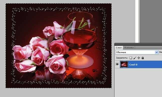 Палитра слоев в уроке фотошопа для начинающих.