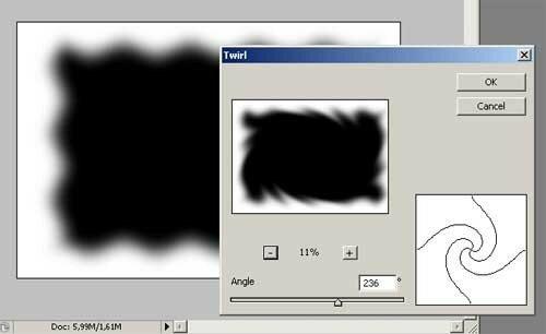 Как сделать размытый края в фотошопе